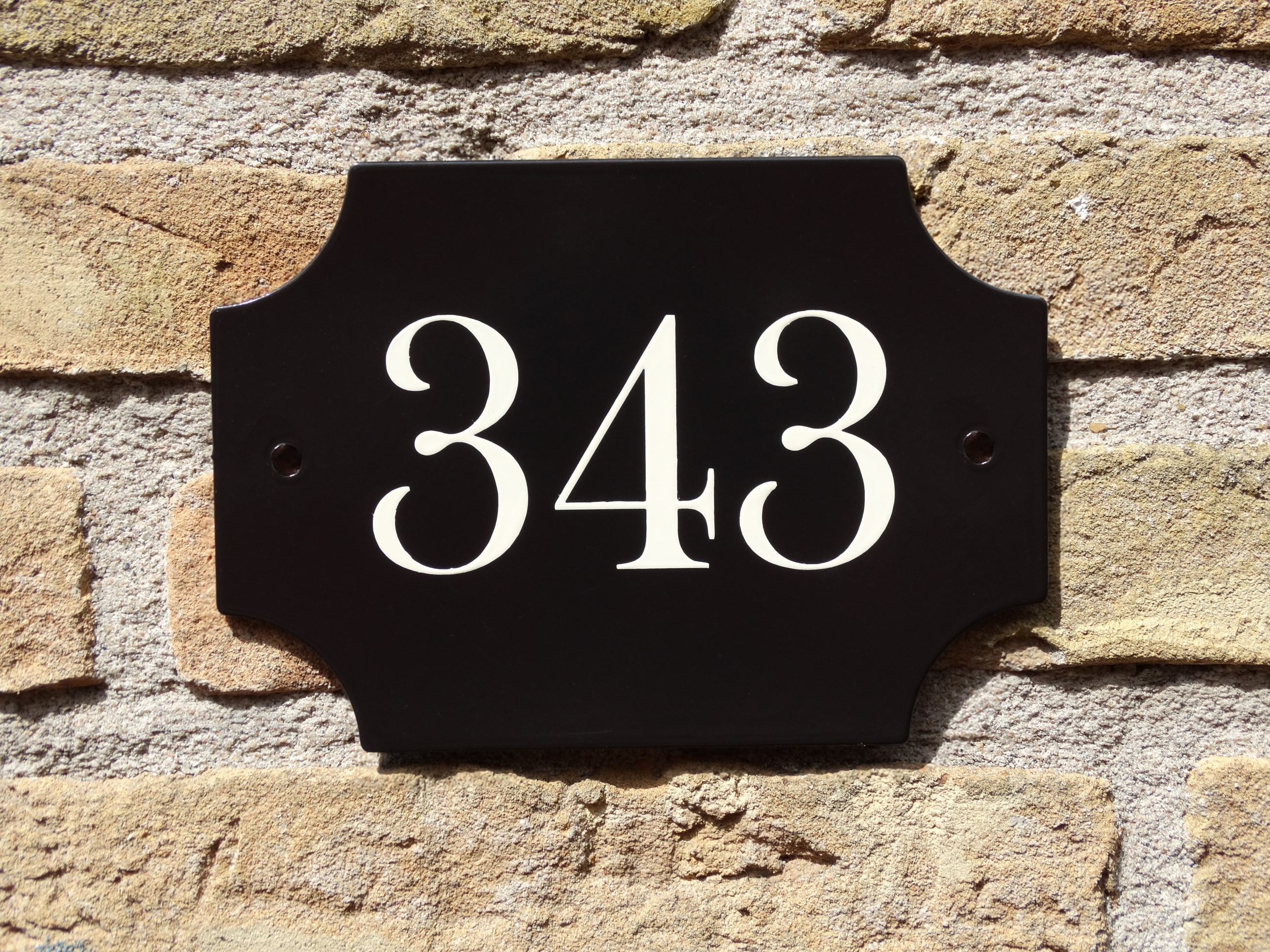 huisnummer handgeschilderd huisnummerplaat huisnummerbordje