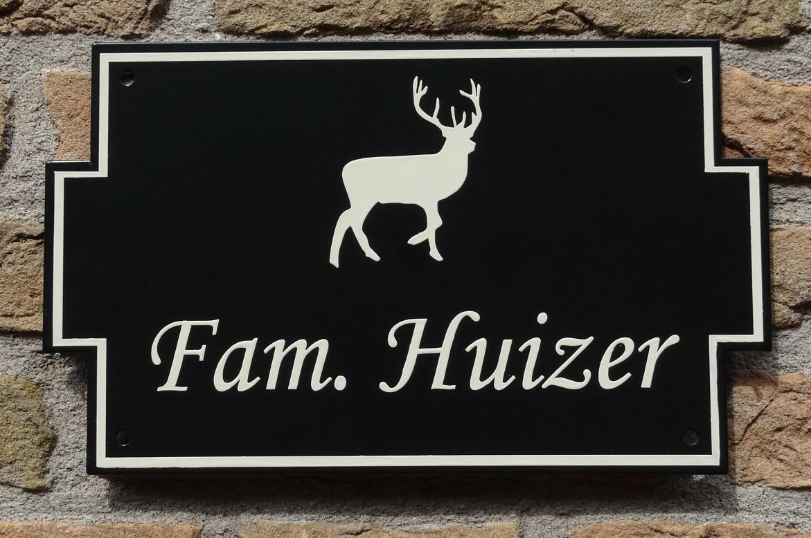 Naambord naamplaat landelijk modern