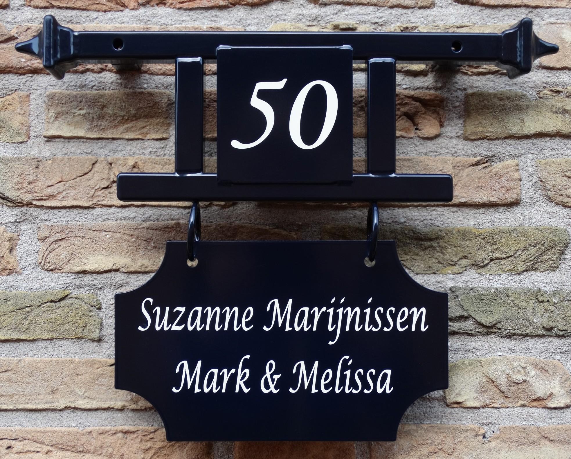 Naambord & huisnummer professioneel