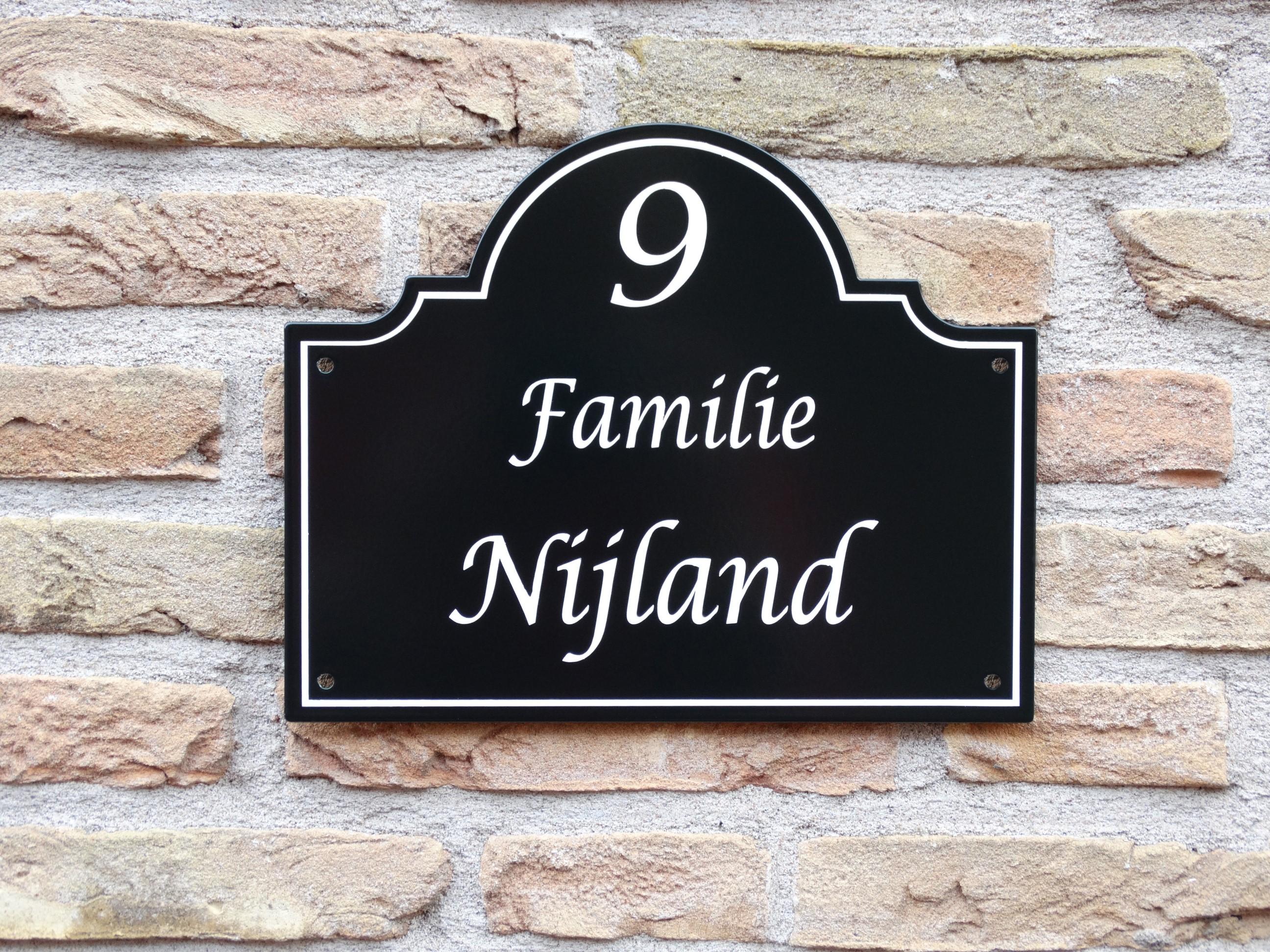Naambord Voordeur Landelijk : Naambord origineel landelijke stijl naamplaatje voordeur